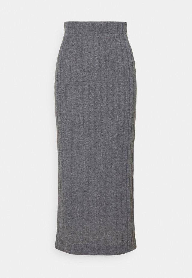 Spódnica ołówkowa  - grey marl