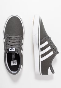 adidas Originals - SEELEY - Skate shoes - ash/footwear white/core black - 1