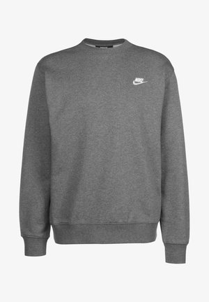 Sweatshirt - charcoal heather/white