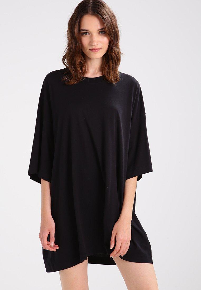 Weekday - HUGE - Basic T-shirt - black