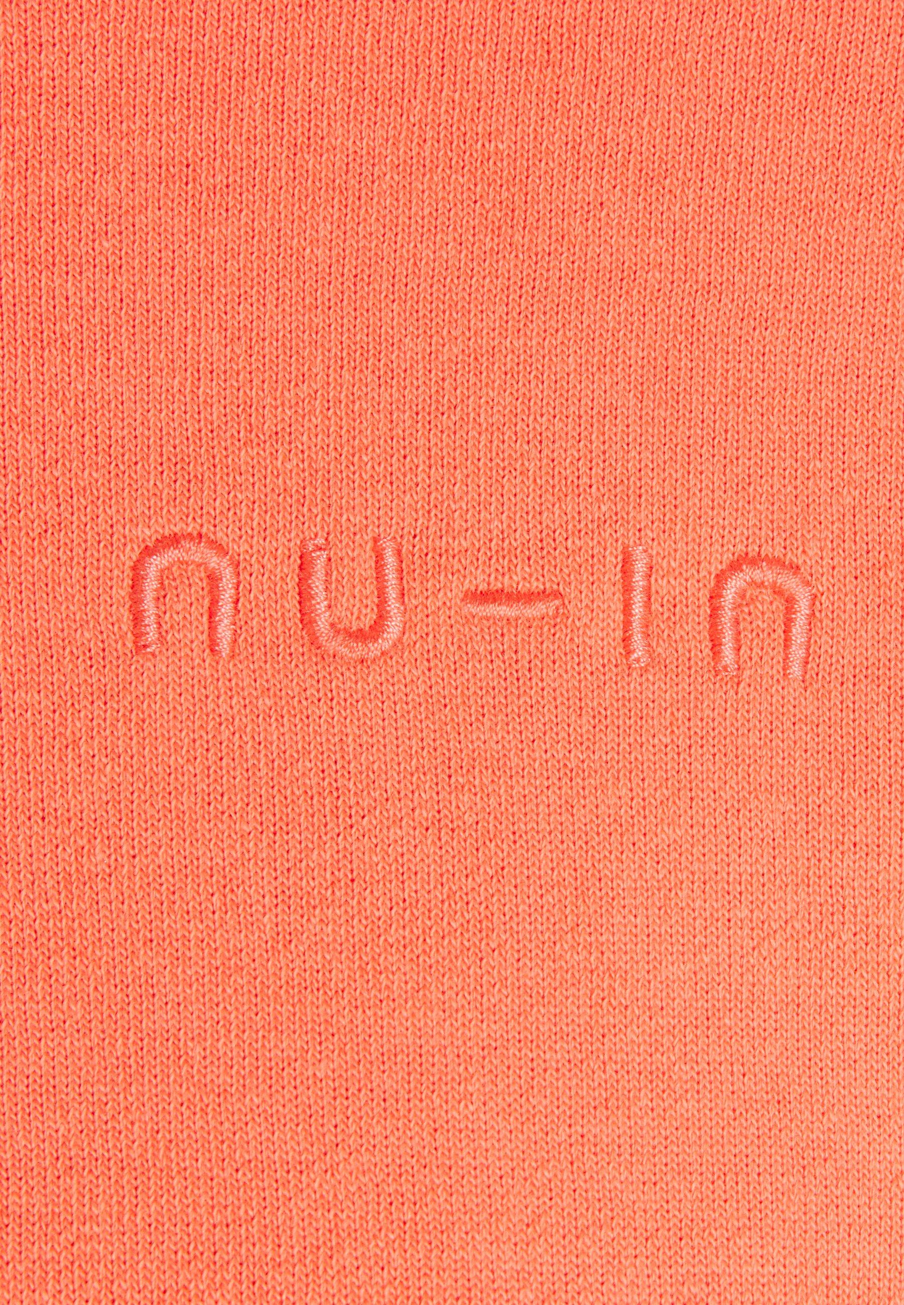 NU-IN CROPPED HOODIE - Hoodie - orange lSZOh