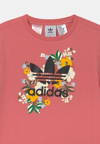 adidas Originals - FLORAL TREFOIL  - T-shirt print - hazy rose/multicolor/black - 2