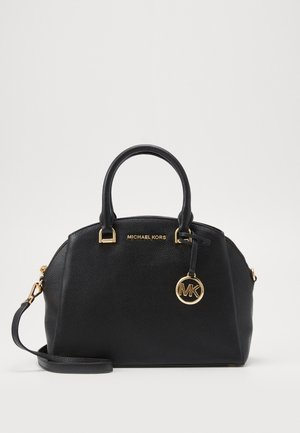 MAXINE DOME SATCHEL - Handbag - black