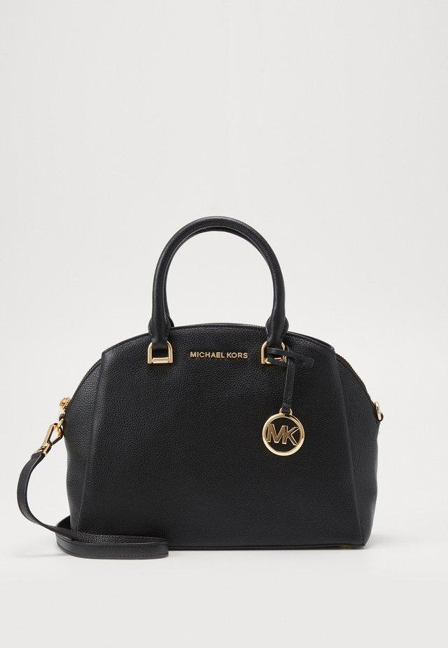 MAXINE DOME SATCHEL - Handbag - black
