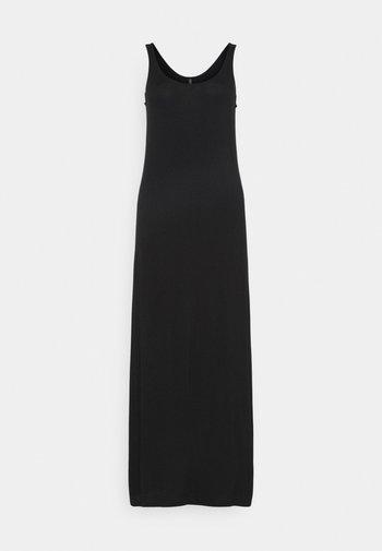 PCKALLI MAXI TANK DRESS TALL - Maxi dress - black