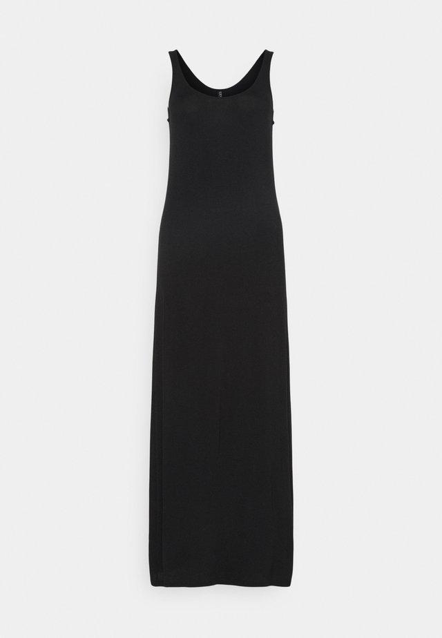 PCKALLI MAXI TANK DRESS TALL - Maxi-jurk - black