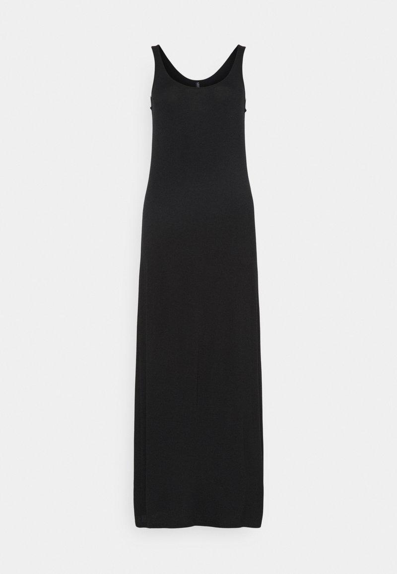 PIECES Tall - PCKALLI MAXI TANK DRESS TALL - Vestito lungo - black