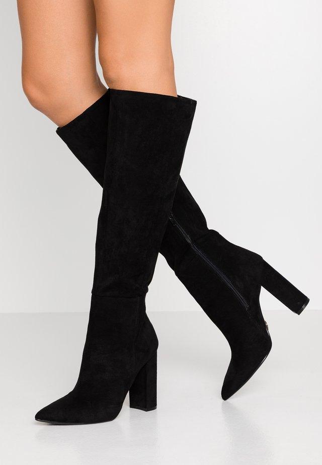FINKA - High heeled boots - black