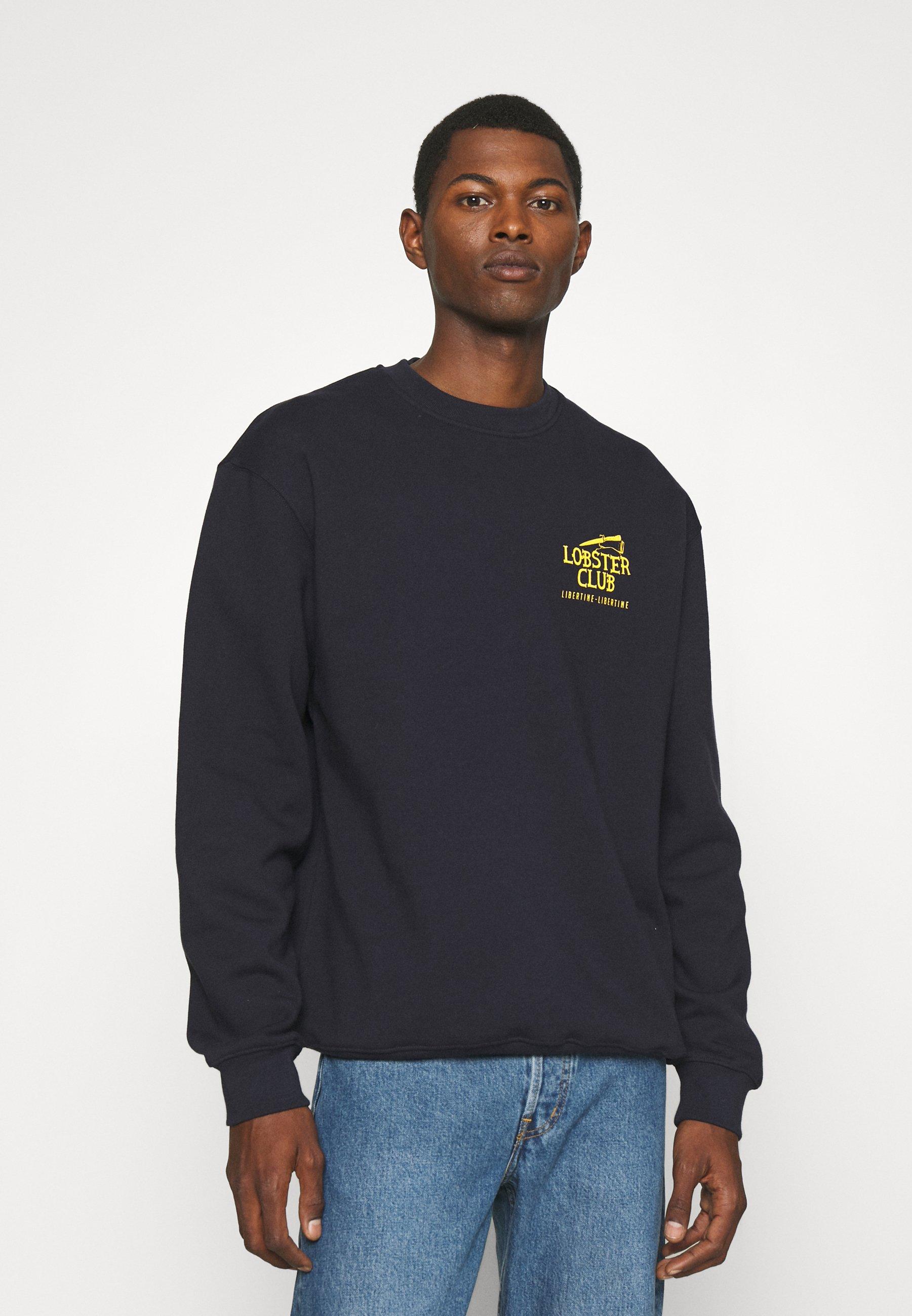 Men SOCIETY LOBSTER CLUB - Sweatshirt