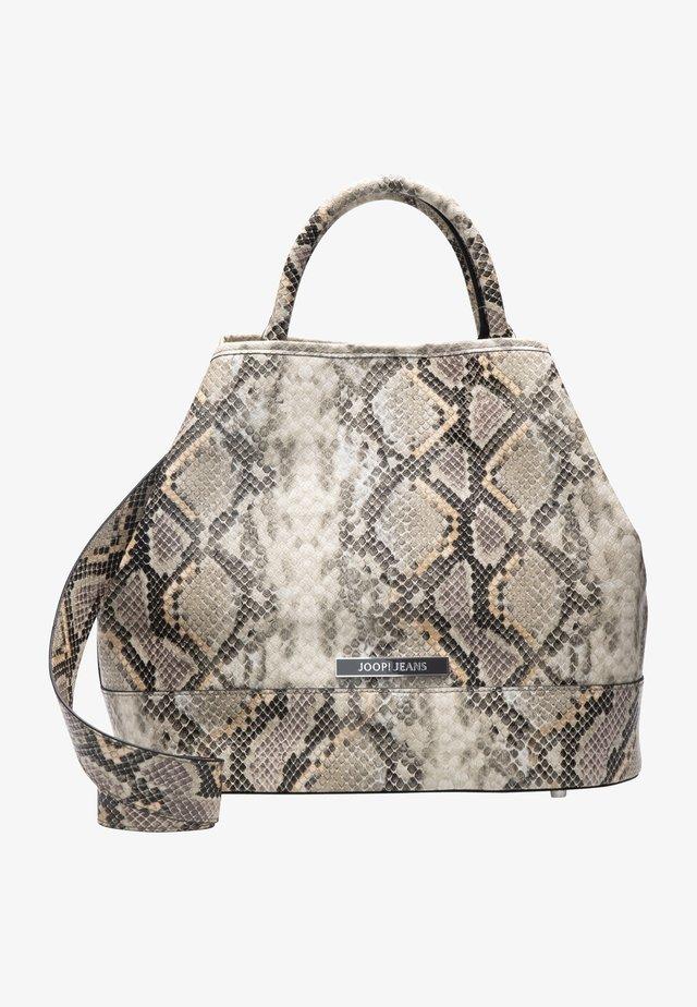 DOMENICA SNAKE - Shopping bag - beige