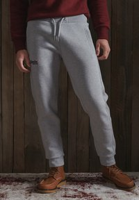 Superdry - Tracksuit bottoms - grey marl - 1