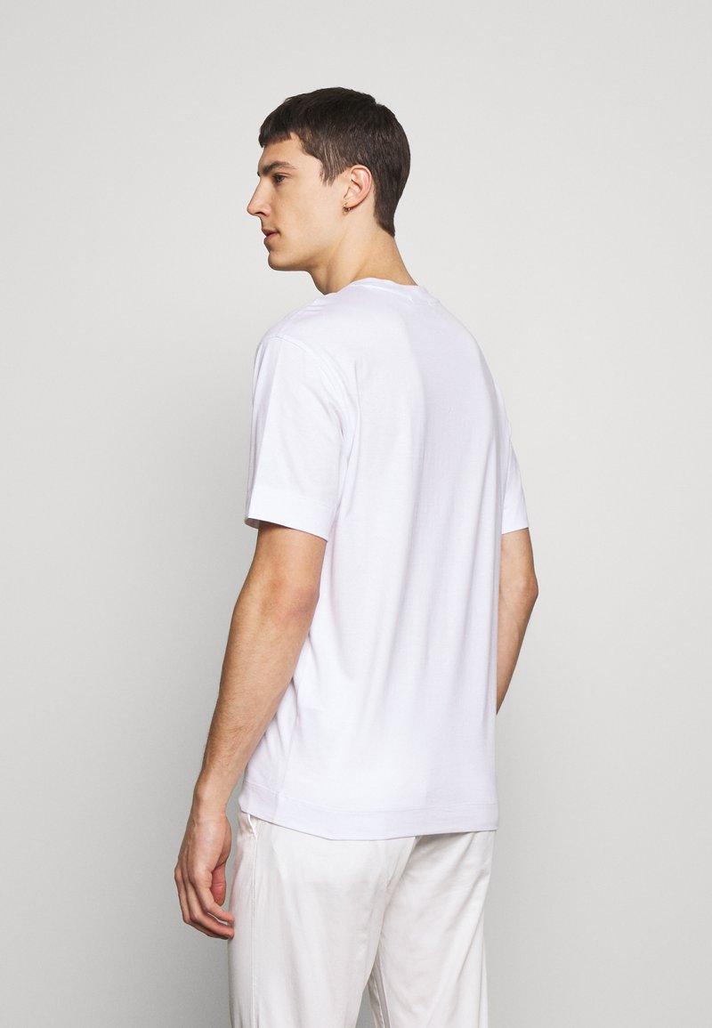 Emporio Armani - T-shirt imprimé - bianco lett