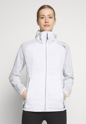 WOMAN FIX HOOD JACKET - Giacca outdoor - bianco