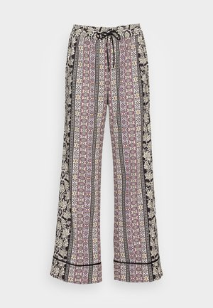 MEERA PIPED PAJAMA SUIT PANT - Tygbyxor - dream castle/combo
