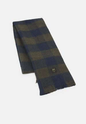 JUNIPER CHECKED SCARF UNISEX - Scarf - total eclipse