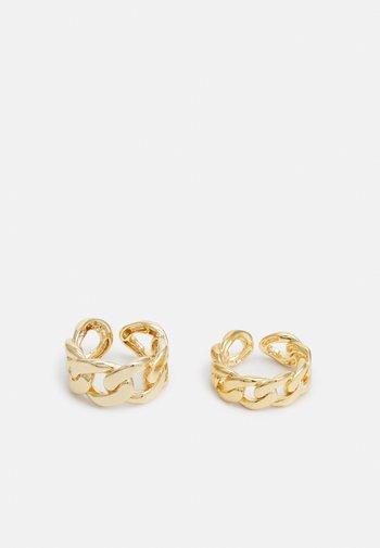PCHILIBA RING 2 PACK - Pierścionek - gold-coloured