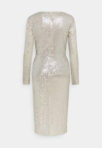 Lauren Ralph Lauren - MILLBROOK DRESS - Sukienka koktajlowa - silver frost shin - 1