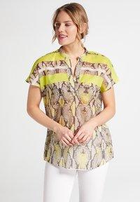 Eterna - Button-down blouse - neongelb - 1