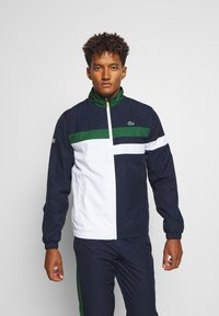 Lacoste Sport - SET - Dres - navy blue/white/green/wasp - 0