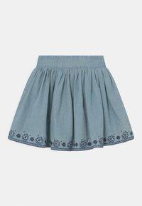 Staccato - KID - Mini skirt - mid blue denim - 0