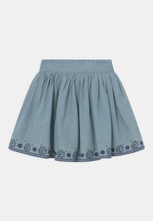 KID - Mini skirt - mid blue denim