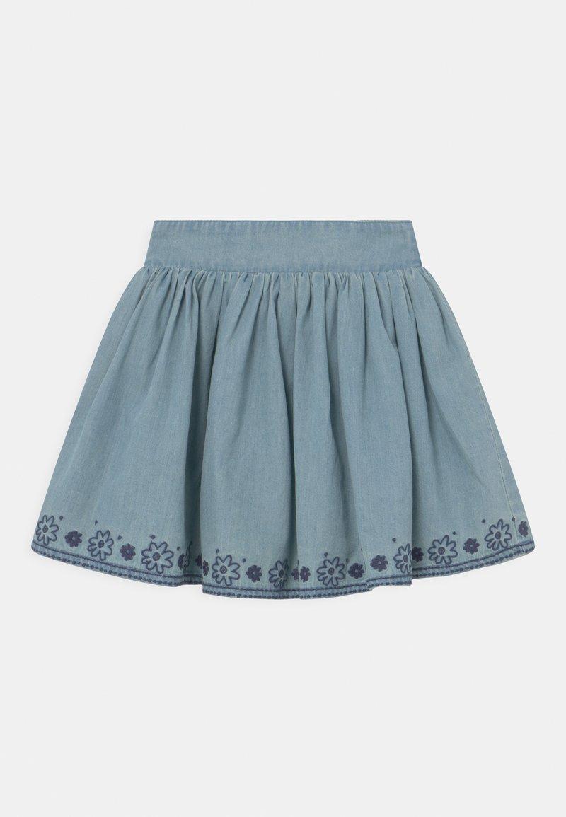 Staccato - KID - Mini skirt - mid blue denim