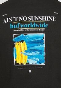HUF - AINT NO SUNSHINE - Print T-shirt - black - 5