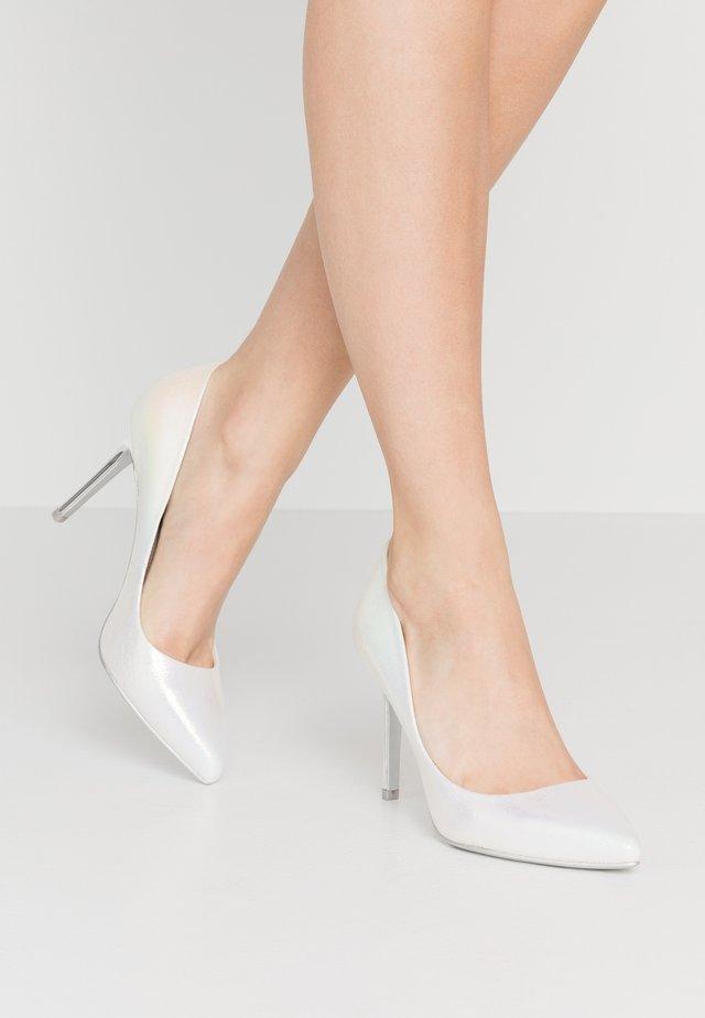 JASMYN - Lodičky na vysokém podpatku - white