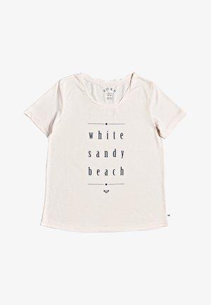 ROXY™ CHASING THE SWELL - T-SHIRT FOR WOMEN ERJZT04795 - Print T-shirt - peach blush