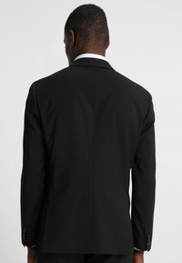 Tommy Hilfiger Tailored - SLIM FIT SUIT - Oblek - black - 3