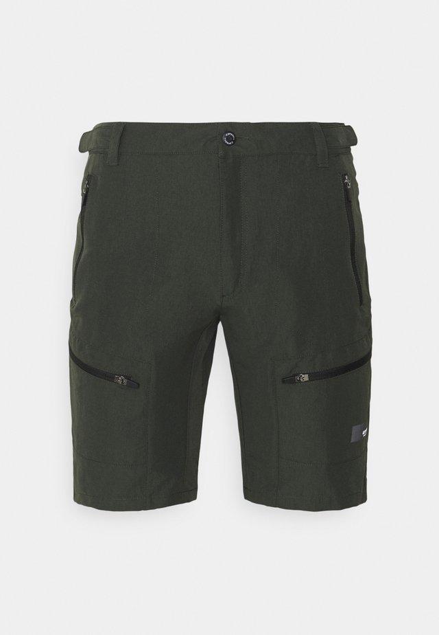 CARLTON - Pantaloncini sportivi - dark green