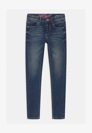 BELIZE - Jeansy Skinny Fit - dark-blue denim