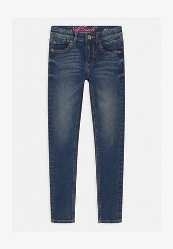 BELIZE - Skinny džíny - dark-blue denim