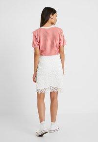 Anna Field Petite - Pencil skirt - white - 2