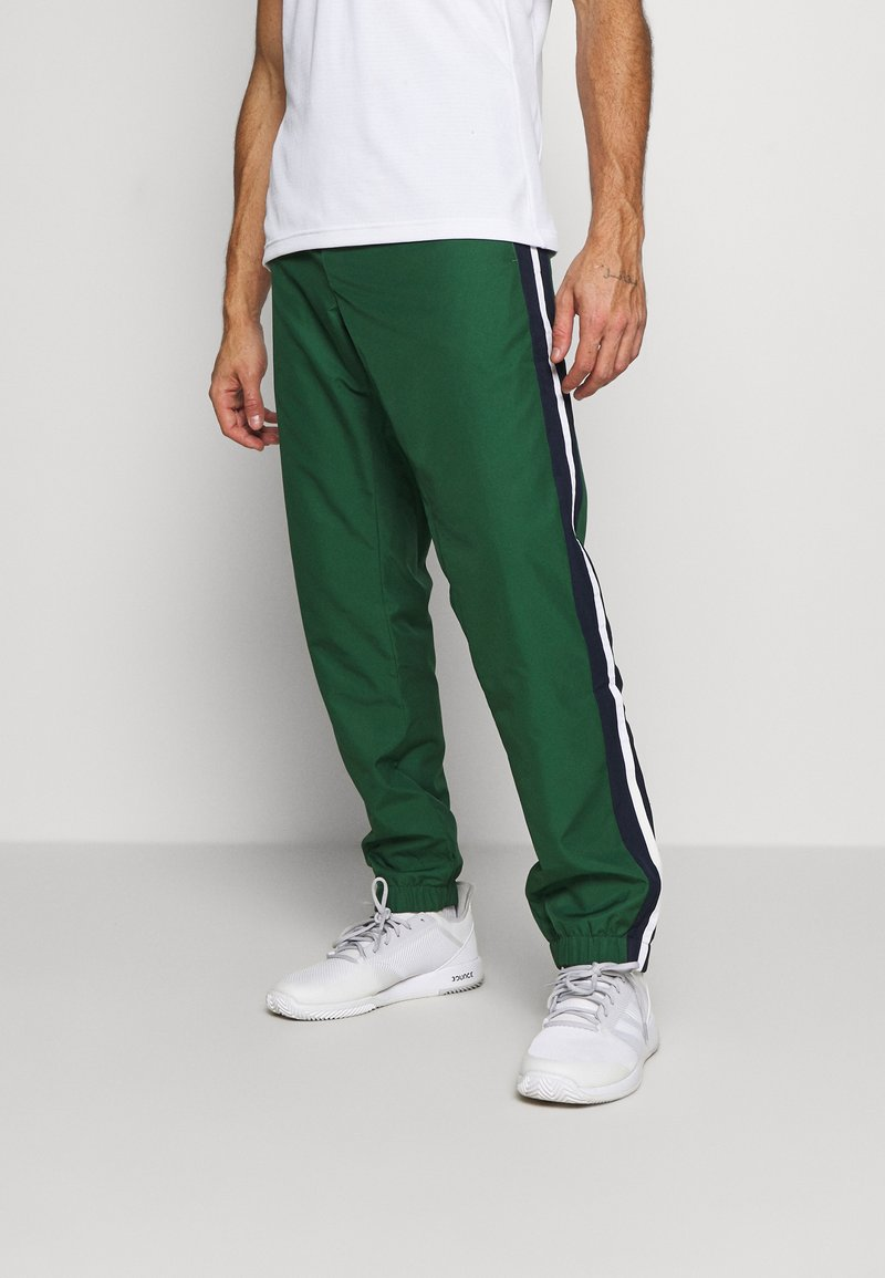 Lacoste Sport - Tracksuit bottoms - green