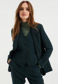 WE Fashion - REGULAR FIT - Blazer - moss green - 0