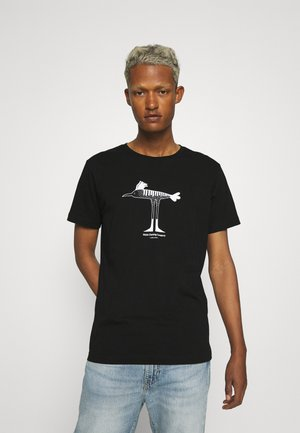 Makia x Olle Eksell Bird T-Shirt - Triko spotiskem - black