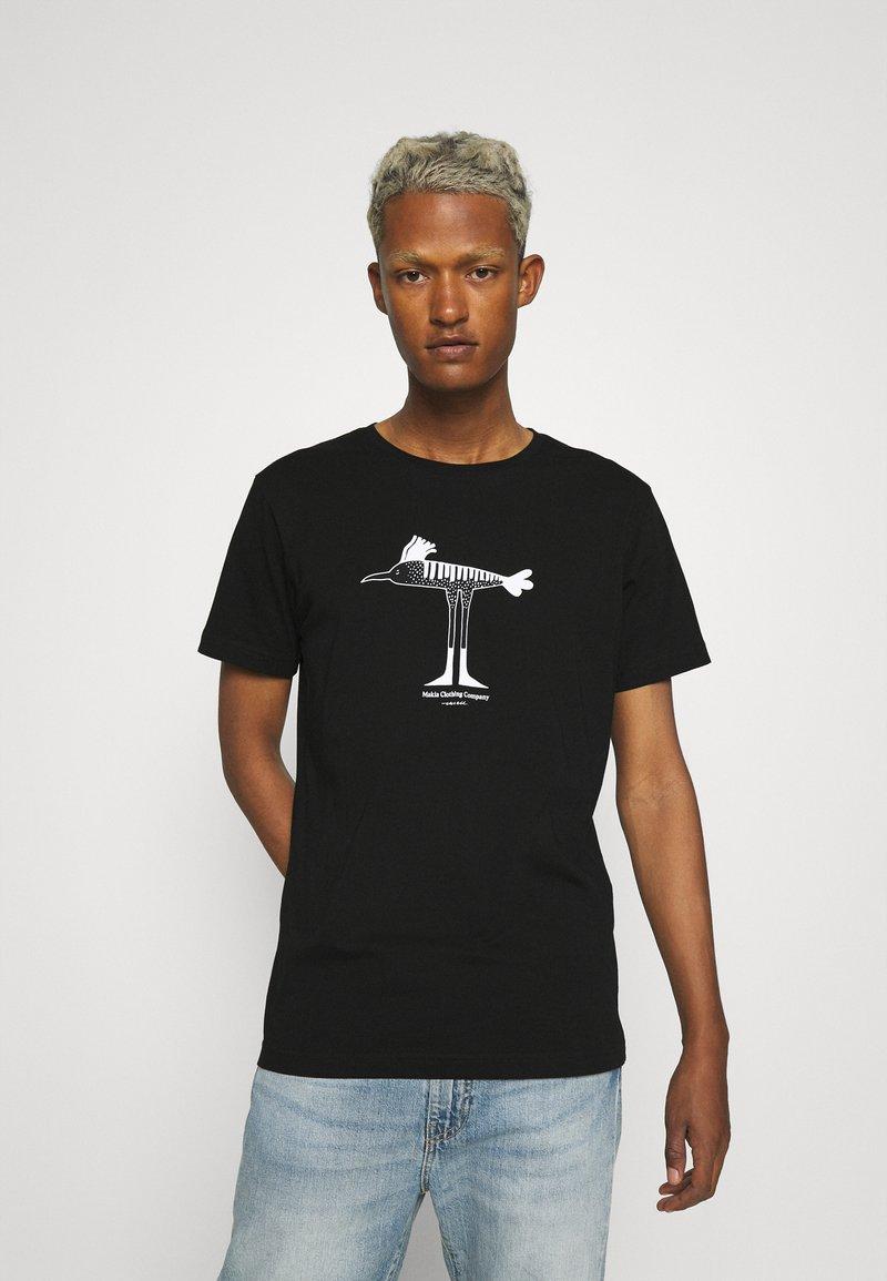 Makia - Makia x Olle Eksell Bird T-Shirt - T-shirt print - black