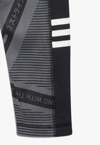 adidas Performance - Collant - grey six/black/white - 2