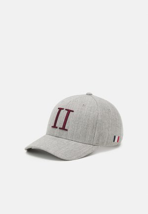ENCORE BASEBALL - Cap - light grey melange/burgundy