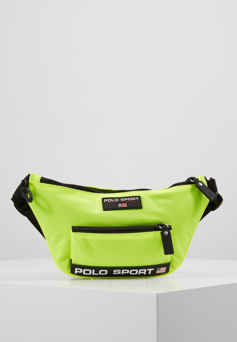 Polo Ralph Lauren - Sac banane - neon yellow