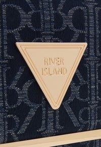 River Island - Across body bag - blue dark - 3