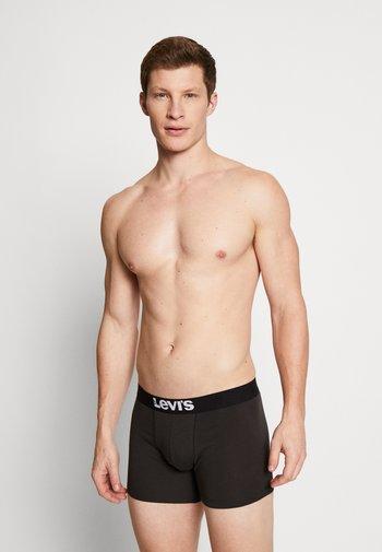 MEN SOLID BASIC 2 PACK - Underkläder - jet black