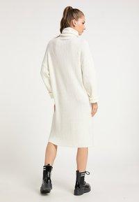 myMo - Gebreide jurk - weiß - 2