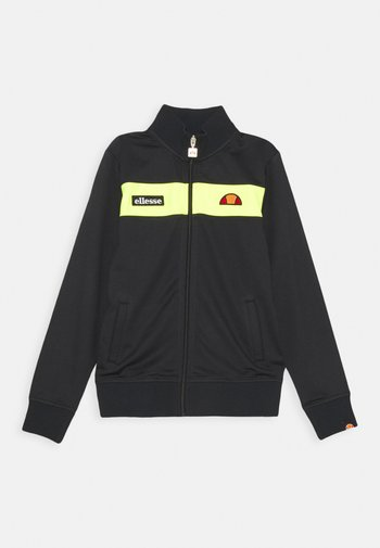 RELLIO - Zip-up sweatshirt - black