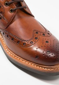 Grenson - FRED - Lace-up ankle boots - tan - 5