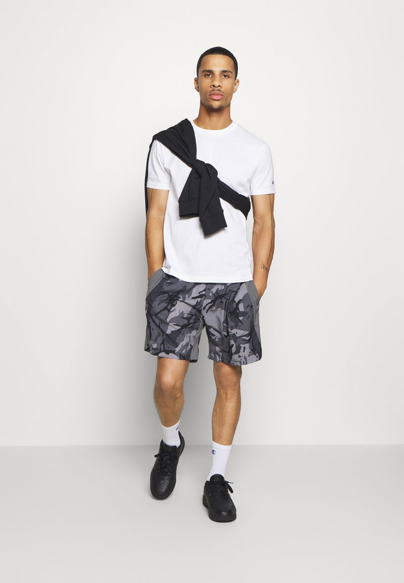 Champion - LEGACY CREW NECK 2 PACK - T-shirt basic - white/navy