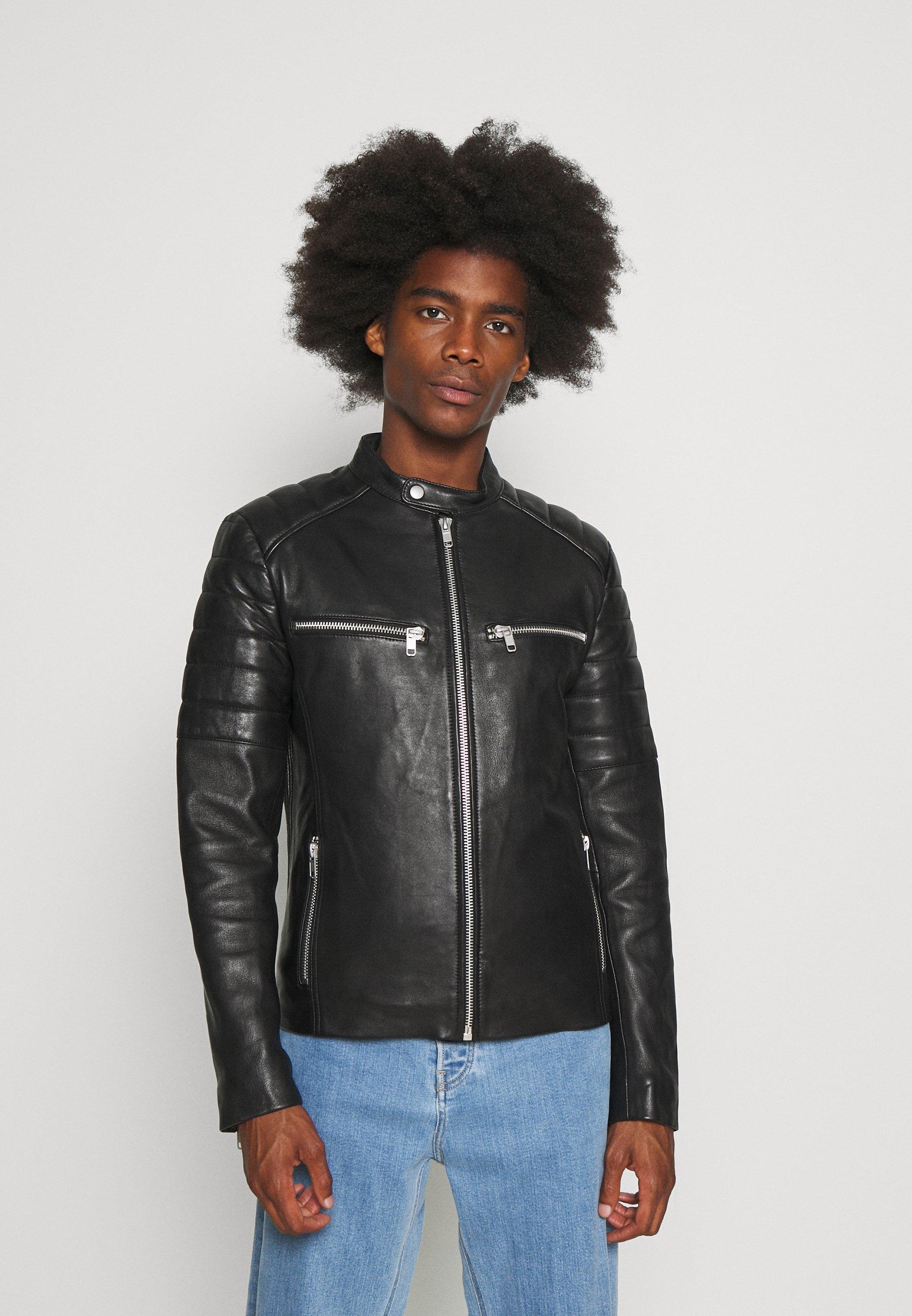 Men WARRIOR - Leather jacket