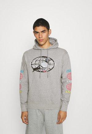 GLOBAL HOODIE - Sweater - heather grey