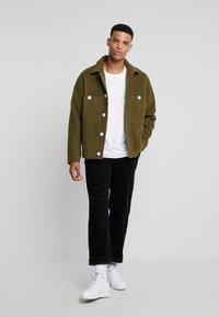 Weekday - AVON JACKET - Light jacket - khaki - 1